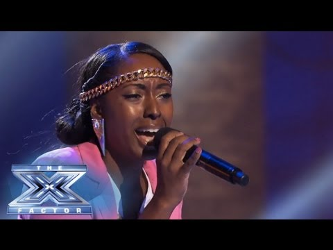 Ashly Williams Doesn t Want To Miss A Thing THE X FACTOR USA 2013