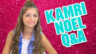 My Crush, Embarrassing Moment, and Mac & Cheese   Q&A with Kamri Noel