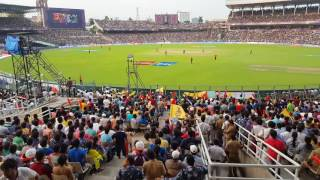 Shakib vs Mustafiz first ball KKR v Sunrisers Hyderabad