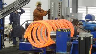 Hot Wound Spring for Sub-sea Oil and Gas