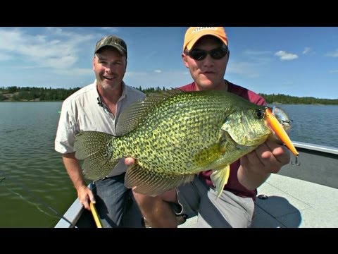 Cast Cranking Crappies - Uncut Angling - Aug 30, 2012