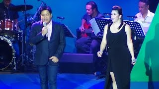 REGINE VELASQUEZ & MARTIN NIEVERA - Kahit Isang Saglit/Sana Maulit Muli (On A High Note Concert!)