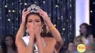 Miss Universe 2006 Crowning Moment Zuleyka Rivera Puerto Rico