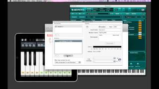 Using Your iPad as a Wireless MIDI Controller