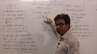 SSC Higher Math Chapter 2 Algebra ( দ্বিতীয় অধ্যায় -বীজগাণিতিক রাশি ) Part 1