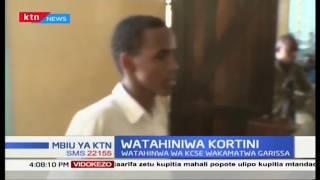 Watahaniwa watatu wa KCSE wafikishwa mahakamani Garissa kwa udanganyifu