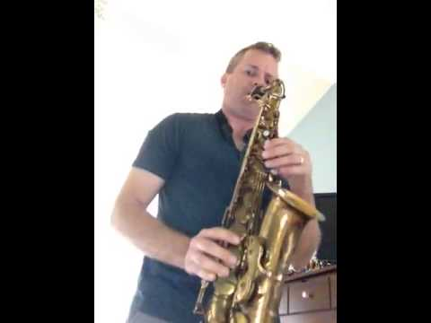 Xxx Mp4 Selmer Mark VI 55 Xxx Alto Saxophone Sax Played With A CE Winds Le Noir Classique Short Shank 3gp Sex