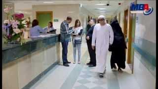 اتفرج على مصطفى شعبان و حورية فرغلى فى مشهد جامد جداً من مسلسل دكتور امراض نسا