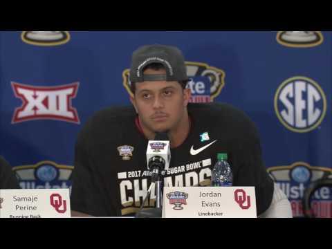 2016 17 Sugar Bowl Oklahoma Post Game Press Conference