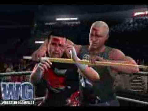 WWE SmackDown vs RAW 2008 Extreme Rules Sandman vs Dreamer