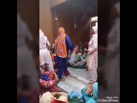 Haryanvi desi dance by old woman
