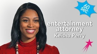Entertainment Attorney | Keisha Perry | 60 Seconds