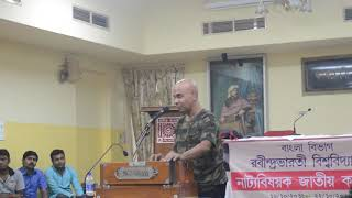 workshop on drama by Sri Goutam Haldar : Rabindra Bharati University