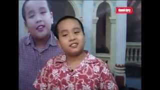 Clip 'Thần đồng Việt' phát biểu gây sốc