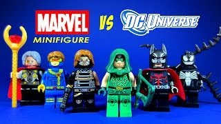 LEGO DC Superheroes vs Marvel KnockOff Minifigures Set 6 with Venom Green Arrow & Batman