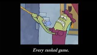 Ranking in League of Legends Portrayed by Spongebob