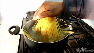 How To Cook Spaghetti At Home With The Kids- Easy & Simple 13 Minutes Into Boiling Water