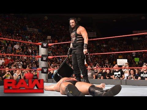 Roman Reigns vs. Rusev - United States Championship Match: Raw, Sept. 26, 2016