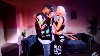 Jimmy Kimmel Live   Rita Ora and Chris Brown  Body On me