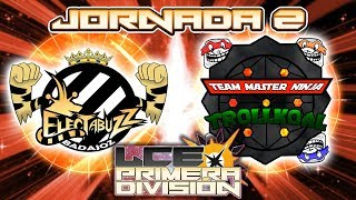 LCE T4 - Jornada 2 | Electabuzz de Badajoz vs TMNT