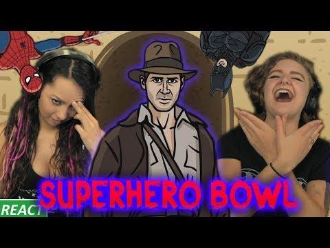 TO THE DEATH Girls React SuperHero Bowl