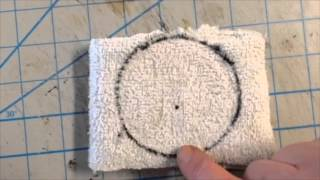 How to make  a mini  3 inch buffing wheel for a  mini  grinder