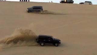 تطعيس في العديد 08/04/2016  - Dune Bashing in Qatar