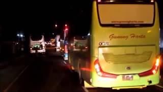 [TEMPEL KETAT!!!] Duel Sengit antara Bus Po Haryanto HR 108 & Po Gunung Harta body Marcopolo