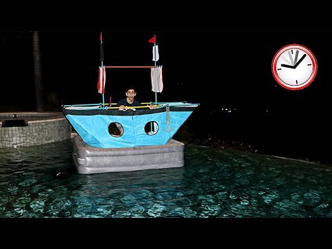 Xxx Mp4 SCARY OVERNIGHT CHALLENGE ALONE IN A BOAT WTF FaZe Rug 3gp Sex