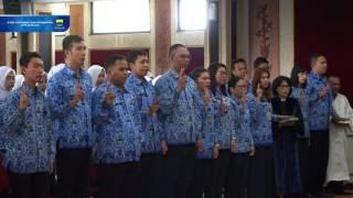 160602 Pengambilan Sumpah Pegawai Negeri Sipil di Lingkungan Pemerintah Kota Bandung
