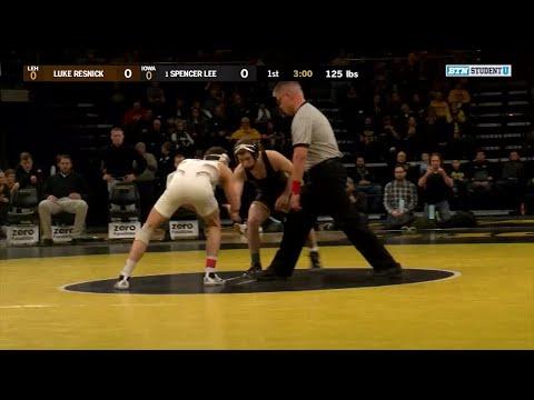 Xxx Mp4 125 Pounds Luke Resnick Lehigh Vs 1 Spencer Lee Iowa Big Ten Wrestling 3gp Sex