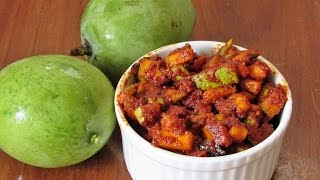 Instant Mango Pickle Recipe - Onam  Sadya Recipes | Nisa Homey
