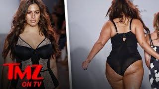 Ashley Graham Walks Runway in SEXY LINGERIE | TMZ TV