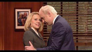 Jason Sudeikis' Joe Biden Gets Smacked Down On 'SNL' Over Grabby Hands