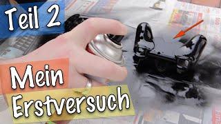 Wassertransferdruck Folie versiegeln 💪 Anleitung Carbon-Look Teil 2/2 [HD]