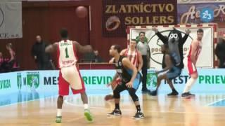 Basketbal, BC Prievidza - BCM Gravelines-Dunkerque, Európsky pohár FIBA - highlights