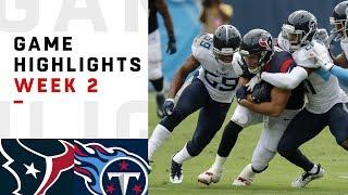 Texans vs. Titans Week 2 Highlights | NFL 2018