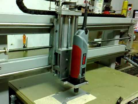 Fresadora CNC casera