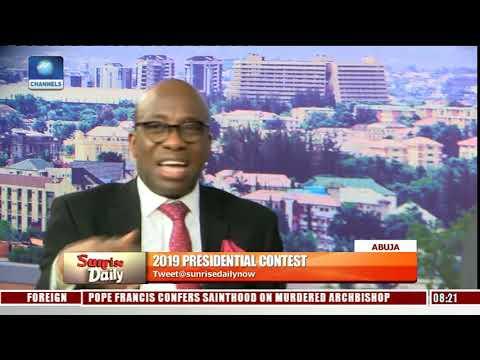 Xxx Mp4 2019 Buhari Atiku Campaign Spokespersons In Direct Criticism Of Flagbearers Pt 6 Sunrise Daily 3gp Sex