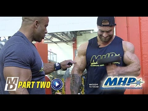 Big Arm Training with Victor Martinez and Chris Bumstead Part 2