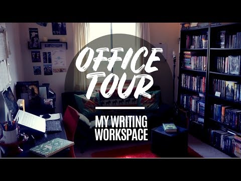 Xxx Mp4 OFFICE TOUR 2018 Writing Work Space CC 3gp Sex