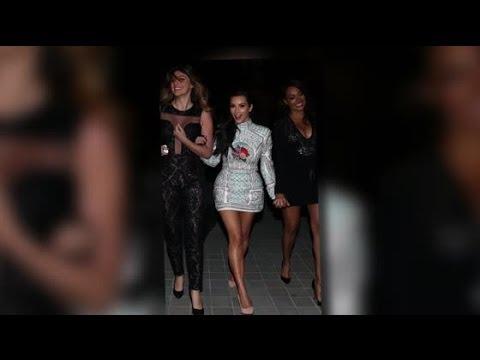 La soirée d enterrement de vie de jeune fille de Kim Kardashian a lieu 2 jours avant son mariage