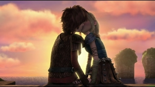 Hiccup and Astrid - Race to the Edge Season 4/6 | Kiss Me