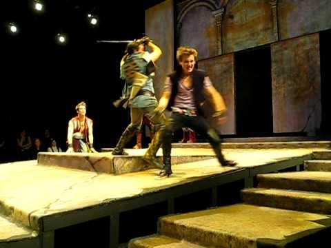 ROMEO AND JULIET FIGHT Tybalt vs Mercutio at Seattle University