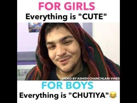 ASHISH CHANCHLANI VINES   CUTE GIRLS BOYS CHUTIYA