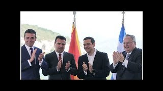 News Three decades on, Greece, Macedonia sign pact to change ex-Yugoslav...