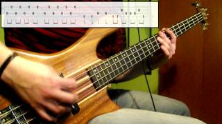 Final Fantasy IV DS - Battle Theme (Bass Cover) (Play Along Tabs In Video)
