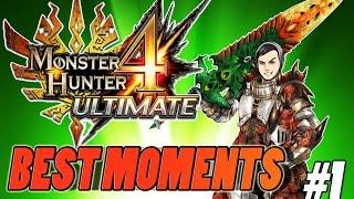 BEST MOMENTS IN Monster Hunter 4 Ultimate-#1
