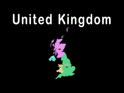 UK Countries and Capitals/ UK Countries