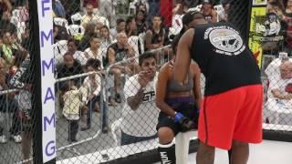 Estefani vs Gizele - MMA Combat